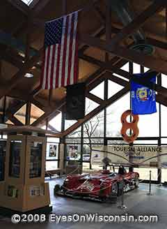 Road America Race Track Exhibit at Kenosh Visitor Center