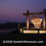 The Wisconsin-Illinois Border on I-94