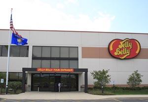 Jelly Belly Company factory tour Kenosha, WI