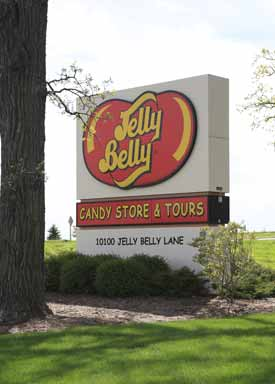 Jelly Belly Candy Store and Tours Kenosh, WI