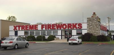 Xtreme Firworks Racine, WI entrance