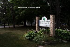 Parkwood Lodge Sign