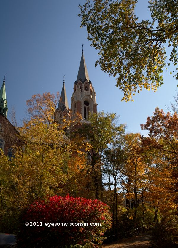 Holy Hill in fall