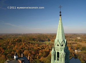 Holy Hill Wisconsin View From The Top