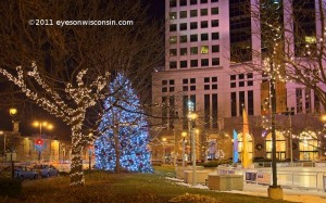 Christmas Lights Red Arrow Park Milwaukee WI