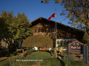 The Maple Leaf Cheese and Chocolate House in New Glarus WI