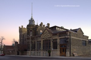 Photo of the castle-like Pabst Brewery