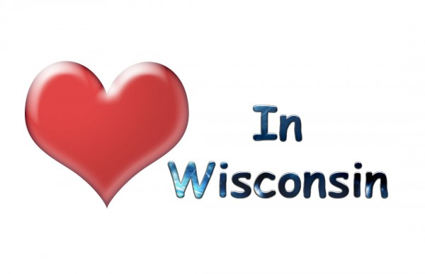 A love in Wisconsin graphic